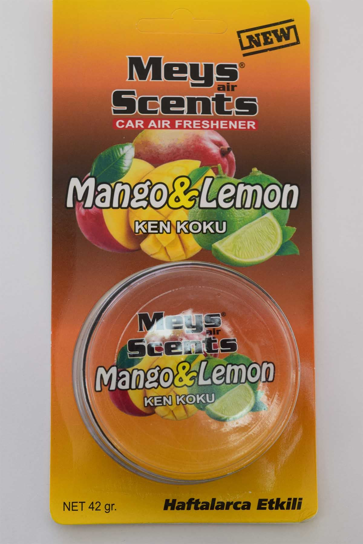 Araç İçi Konserve Mango Limon Aromalı